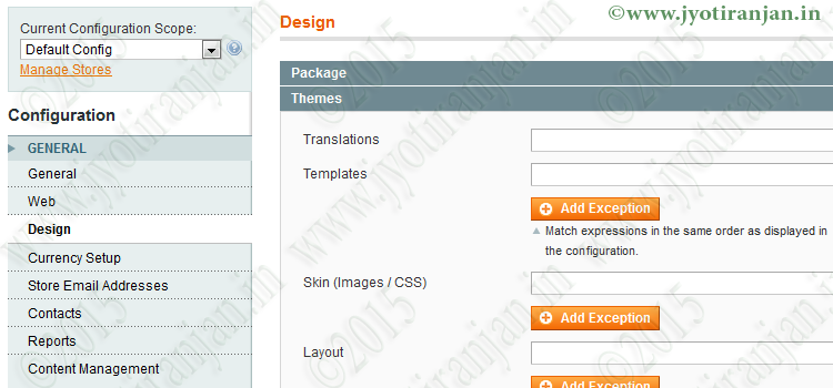 How to create custom configuration fields for magento