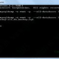 How to import export sql file from command line or ssh by putty