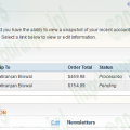 Magento order invoice pdf in customer account dashboard