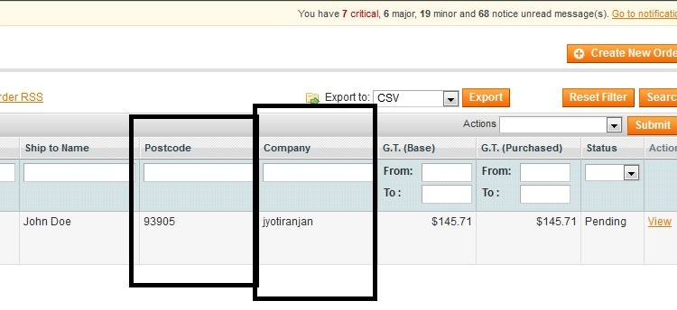 add extra column to magento order grid