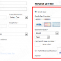 credit card auto select in magento